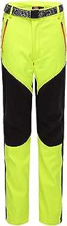 CATERTO Women's Outdoor Windproof Waterproof Softshell Fleece Snow Pants
