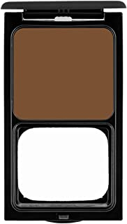 Cream to Powder Foundation Compact by Sacha Cosmetics, Best Natural Matte Makeup to give Flawless Looking Skin, Medium to Full Coverage, Normal to Oily Skin, 0.45 oz, Perfect Bronze