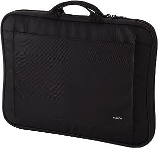 エレコム パソコンケース タブレットケース 11.6~ 14.1インチワイド 13.3インチ (macbook pro 13) 取っ手付 ブラック BM-IB016BK