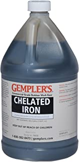 GEMPLER'S Liquid Iron Supplement for Plants – Commercial Grade Chelated Iron for Trees, Shrubs, Plants, Crops - 1 Gallon