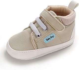 Zapatos Bebé Niño Zapatillas Primeros Pasos Recién Nacido Plano con Suela Suave Antideslizante