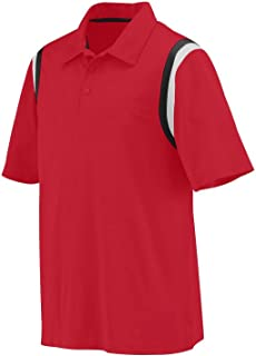 Augusta 5047 - Adult Wicking Snag Resistant Polyester Sport Shirt with Shoulder Inserts