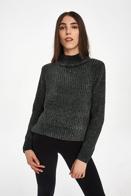 Cheap Monday Women's Velvet Knit (Woods Green)