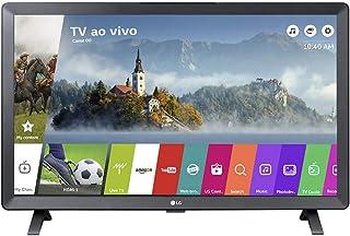 "Smart TV LED 24"" Monitor LG 24TL520S, Wi-Fi, WebOS 3.5, DTV Machine Ready"