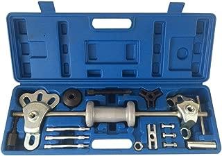 MILLION PARTS 17pc 9 Way Slide Hammer Axle Bearing Dent Hub 2 3 Internal External Gear Puller Tool Set W/Case