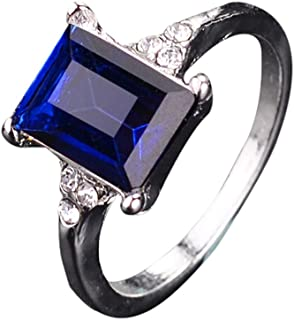 🔥Fashion Rings for Women Men Alloy Diamond Square Crystal Ring ODGear Diamond Wedding Ring Gifts Jewelry