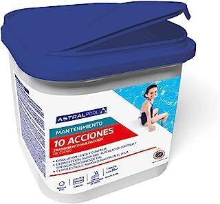 comprar comparacion Astralpool Cloro 10 Efectos_Tabletas 250g (Bote 5kg)_Formato 2019