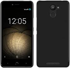 Tumundosmartphone Funda Gel TPU para BQ AQUARIS U Plus Color Negra