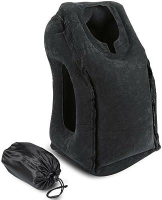 Amazon.com: Cojín de viaje para cuello en forma de U, cuello ...