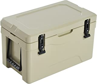 Outsunny 32 Quart Rotomolded Outdoor Portable Camping Cooler and Ice Chest Box