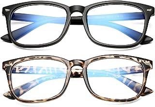 Blue Light Blocking Glasses Women Men Clear Lens Square...