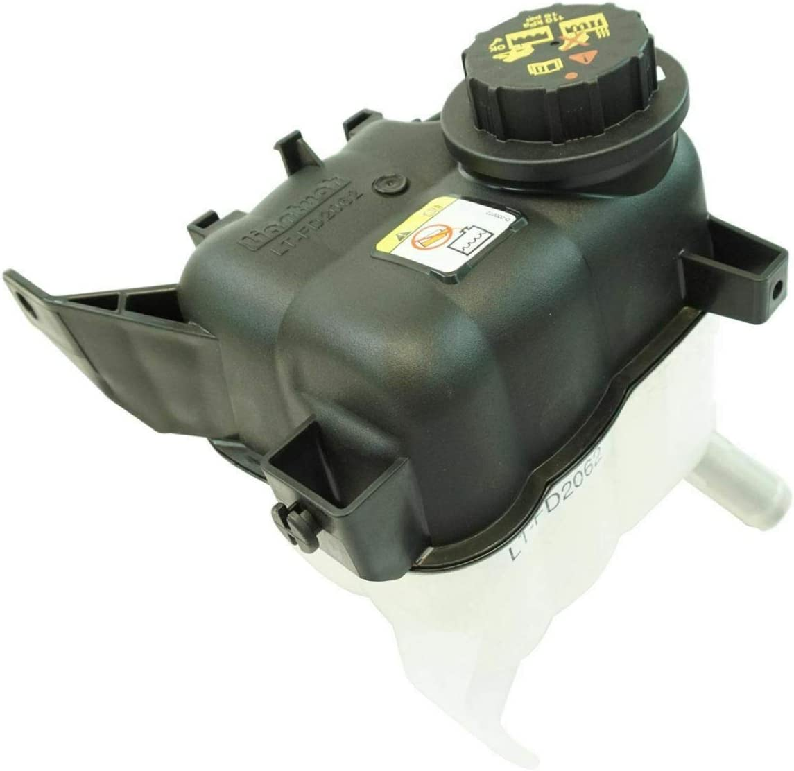 Pressurized 1 year warranty Radiator Overflow Bottle Tulsa Mall Tank Reservoir w Compat Cap