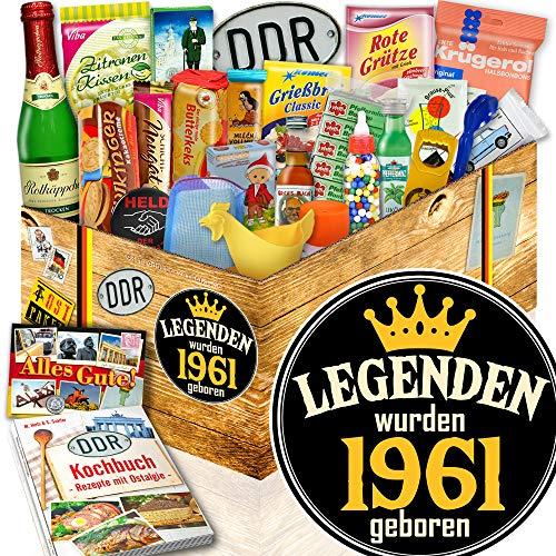 Legenden 1961 ++ 1961 Geschenkpaket ++ DDR Geschenke Set