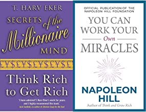 Secrets Of The Millionaire Mind + You Can Work Your Own Miracles (Set of 2 Books)
