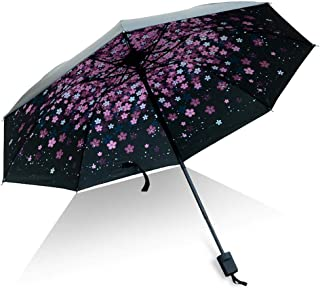 Multiple Choices of Blue Sky Lining Patterns, Ultra-Light and Easy to Carry Umbrellas, Multi-Lattice Storage for Men and Women with Food Bags