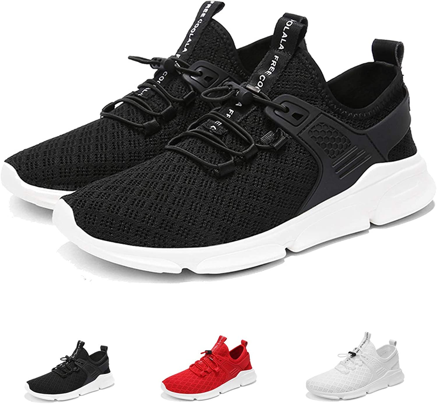 Mens Running shoes Ultra Lightweight Breathable Fashion Sneakers Mesh Athletic Casual Walking shoes