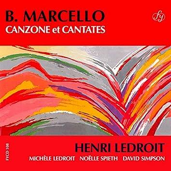 Marcello: Canzone & Cantate