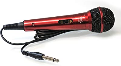 TOPTECH Audio TT220 Hand HELD UNIDIRECTIONAL Dynamic Microphone (RED)