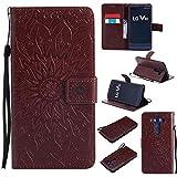 pinlu® Folio Housse de Protection Étui en Cuir PU Stent Function Case Flip Cover pour LG V10 avec...