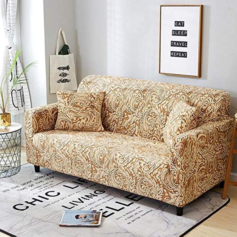 Stretch Sofa Cover All-Inclusive Elastic Seat Couch Cover for Living Room Furniture Slipcovers fundas de sillones envio Gratis   color 5, 2-Seater 145-185cm