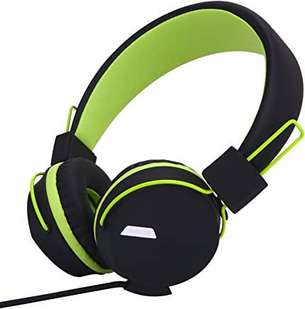 Yomuse F85 On Ear Foldable Headphones with Microphone for...