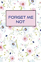 Forget Me Not: Password logbook with Alphabetical tabs ,Internet Password log book Never Forget a Password Again! Password...