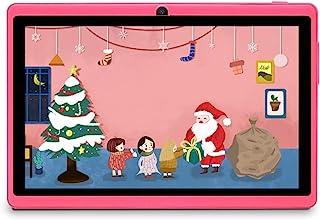 Haehne 7 Pollici Tablet PC, Android 9.0 Certificato da Google GMS, 1GB RAM 16GB ROM Quad Core, 1024*600 HD, Doppia Fotocam...