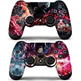 Vanknight Vinyl Decals Skin Stickers 2 Pack Anime for PS4 Controllers Skin