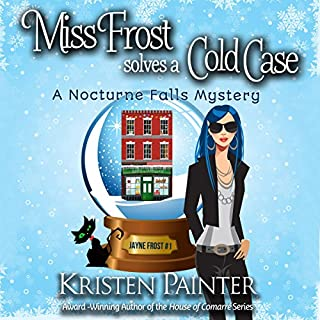 Miss Frost Solves a Cold Case     Jayne Frost, Book 1              By:                                                                                                                                 Kristen Painter                               Narrated by:                                                                                                                                 Hollis McCarthy                      Length: 8 hrs and 8 mins     1,979 ratings     Overall 4.2