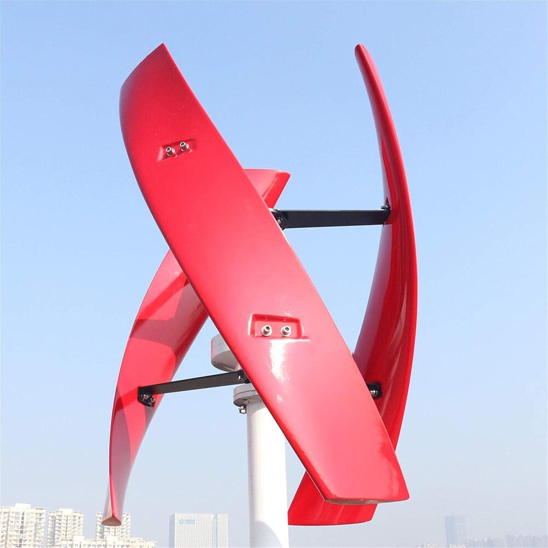 YBINGA Molino de viento de energía libre caliente 400w 600w 800w eje vertical permanente Maglev viento turbina generador 12v 24v 48v con controlador MPPT para uso doméstico e industrial