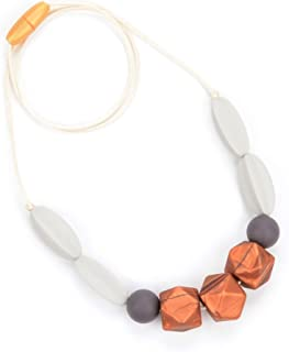 Bebe by Me 'Windsor' Silicone Teething Necklace for Nursing Moms