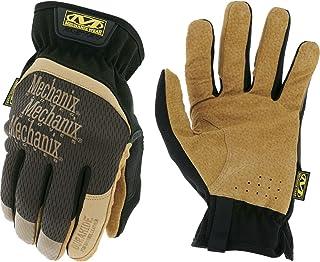 Mechanix Wear - Leather FastFit Gloves (X-Large, Brown/Black)