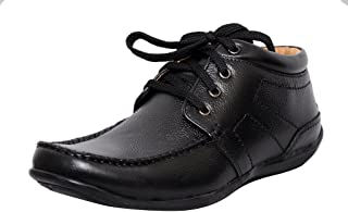 Zoom Mens Shoes Online Leather Shoes and Formal Shoes D-2572-Black Shoes
