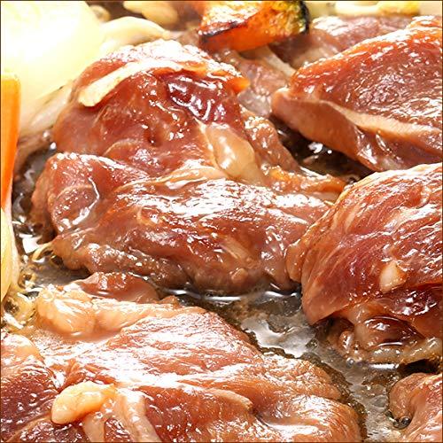 ラム肉 ジンギスカン 味付きジンギスカン 1kg×7袋 (?油味/冷凍品) 業務用 羊肉 BBQ 北海道 じんぎすかん 千歳ラム工房 肉の山本