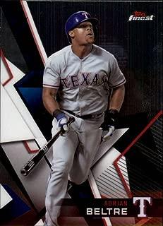 2018 Topps Finest #51 Adrian Beltre Rangers Baseball Card