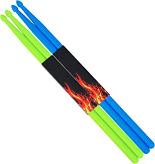 2 Pairs 5A Nylon Drumsticks for Adults Kids Light Durable...