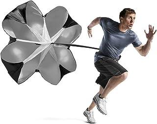 comprar comparacion Speed Chute Correr Entrenamiento de velocidad 56 Pulgadas de Resistencia corriendo Sprint para fútbol de fútbol Deportes d...