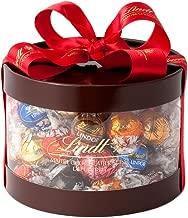 リンツ (Lindt) チョコレート リンドール ギフトボックス 個包装 9種 50個入りショッピングバッグL付