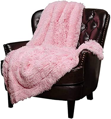 """Mydio Super Soft Shaggy Longfur Throw Blanket 