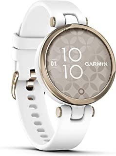 Garmin Lily Sport Reloj Inteligente, Blanco Light Gold