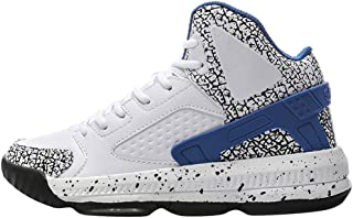 Basketball Shoes,ONLYTOP Men's High Upper Stylish Sneakers Breathable Sports Shoes Anti Slip Lightweight Walking Shoe