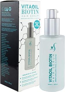 VitaOil Biotin Hair Serum for Hair Growth - Hair Loss Serum - Also Contains Argan Oil, Aloe Vera and Vitami...