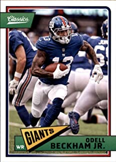 Football NFL 2018 Panini Classics #66 Odell Beckham Jr. NY Giants