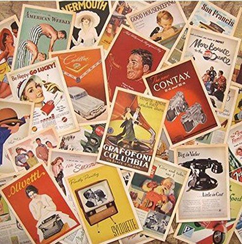 Monkeybrother 32Pezzi, Cartoline Vintage, Antica Europa, viaggio