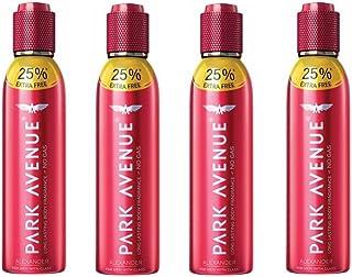 Park Avenue 4 Alexander Perfumed Deodorant Combo Pack for Men (Pack of 4)