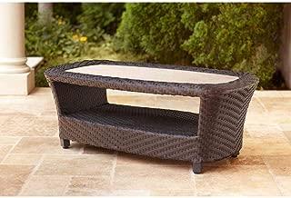 brown jordan outdoor coffee table