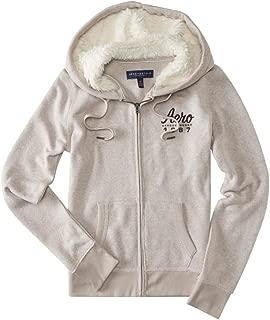 Womens Knit Fleece Fur Hoodie
