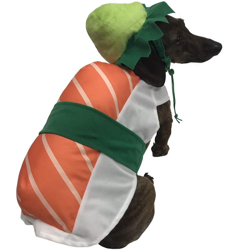 BFF Costumes Disfraz de Sushi para Perros pequeños: Amazon.es ...
