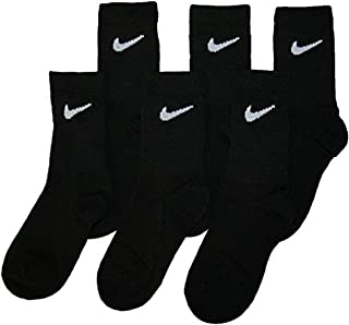Young Athletes Kids 6-Pair Crew Socks Shoes 10C-13CY/5-7 (Sock Size)