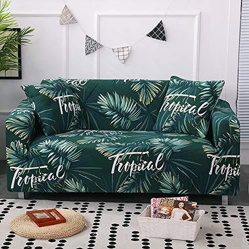 WXQY Sala de Estar geométrica Todo Incluido Funda de sofá Moderna sección elástica Funda de sofá de Esquina Funda de sofá A33 4 plazas